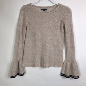 American Eagle Bell Sleeved Sweater Pullover